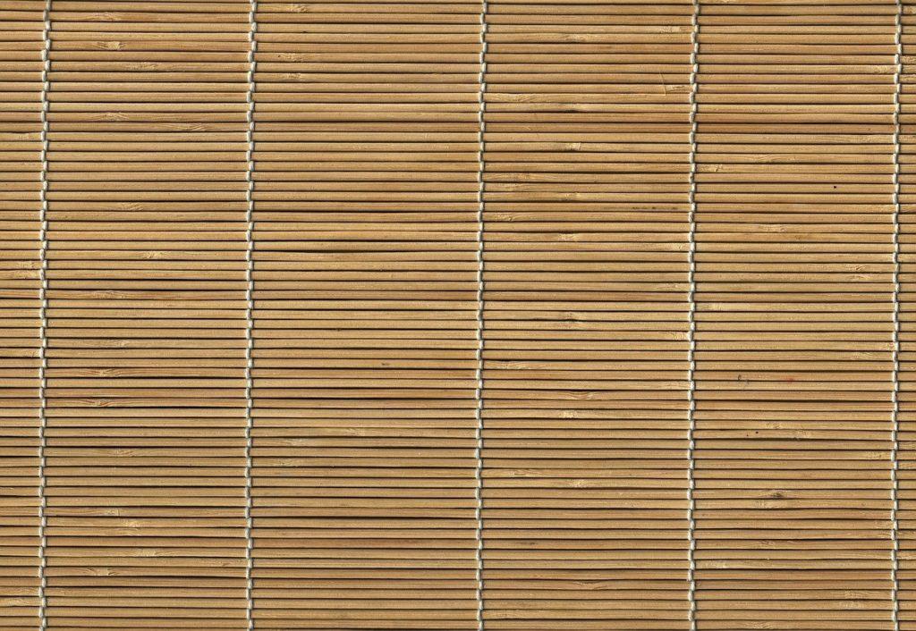 Fußmatten aus Bambus für das Badezimmer